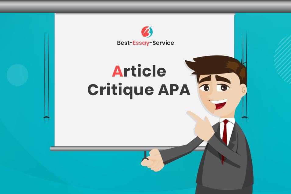 Instructions on How to Write an Article Critique APA